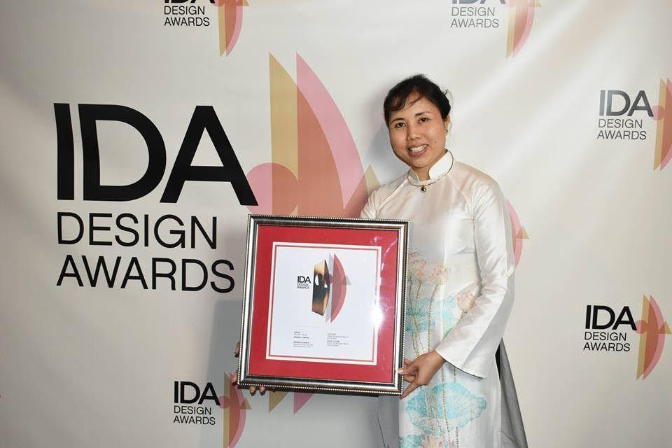 Tác giả 'Con đường gốm sứ' nhận giải thiết kế quốc tế tại Mỹ