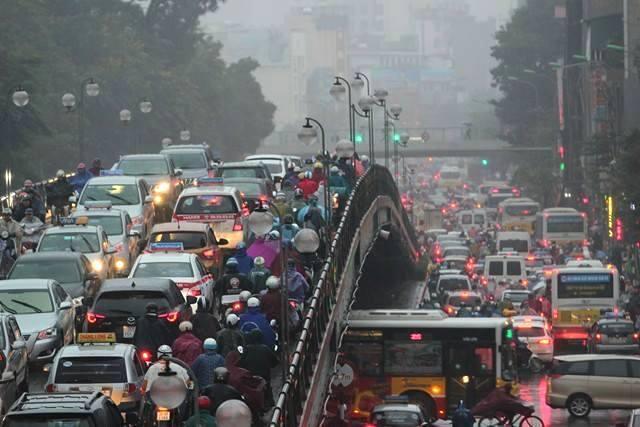 Tắc đường,Xe máy,Ô tô,Xe buýt nhanh,Tắc đường Hà Nội,Tai nạn giao thông