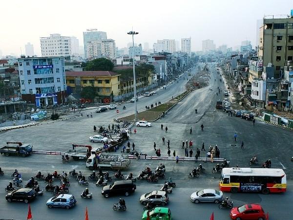 đường Hoàng Cầu - Voi Phục, đường vành đai 1, đường nghìn tỷ