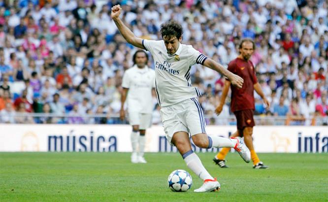 Ronaldo, Raul, Real, AS Roma, giao hữu