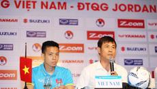 HLV Hữu Thắng nói cứng trước trận Việt Nam vs Jordan