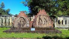 Trưng bày hiện vật tháp Chăm ở Mỹ Sơn