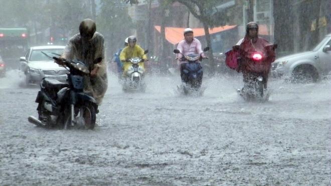 dự báo thời tiết, bản tin thời tiết, mưa to, tin thời tiết, mưa lũ
