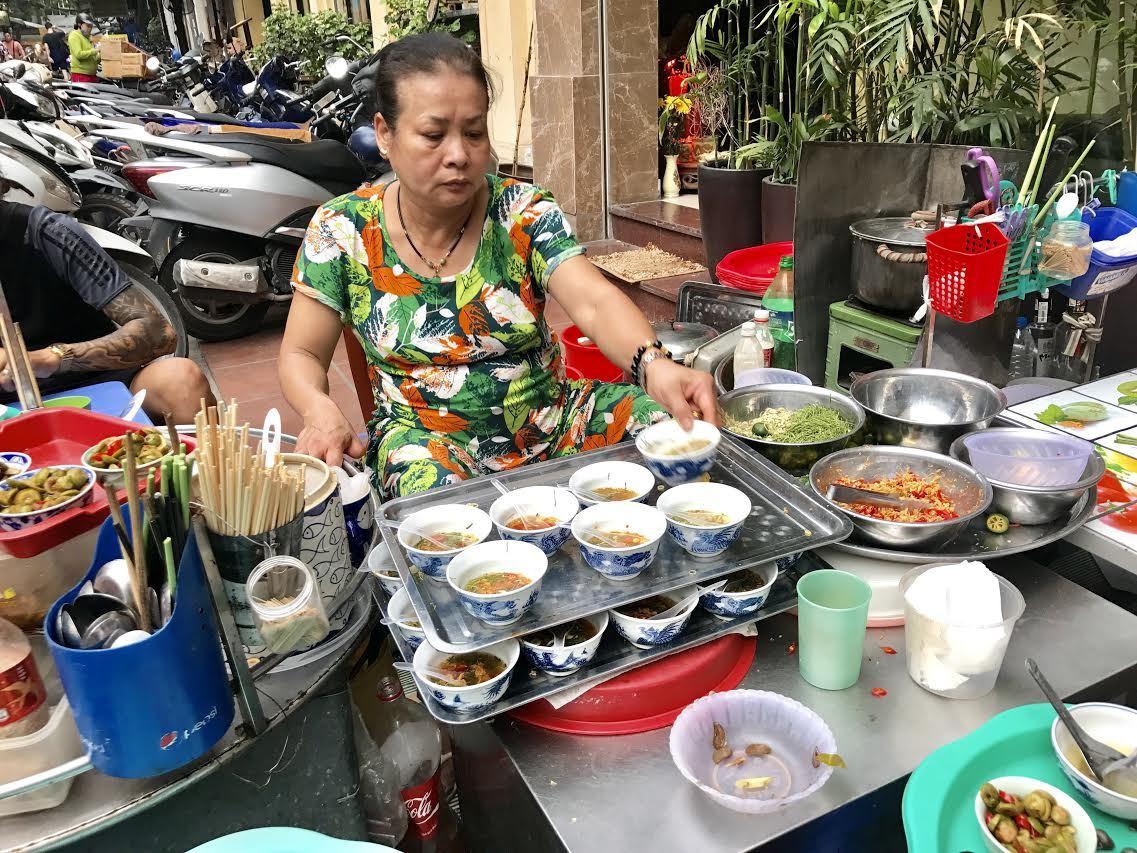 ẩm thực Hà Nội,quán ốc