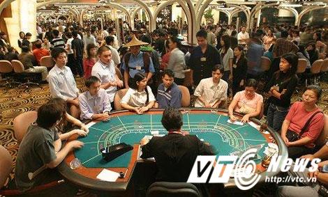đánh bạc, casino, cờ bạc, sòng bài