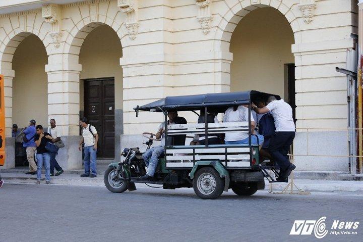 xe cổ,Cuba,Lada,xe Nga