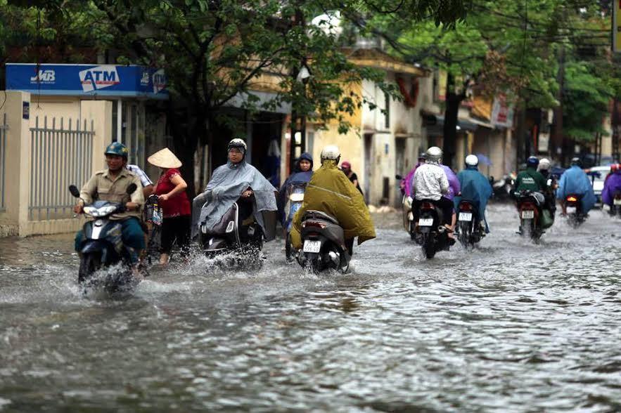 Dự báo thời tiết 14/6: Hà Nội mưa rào, đề phòng gió giật
