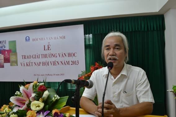 Ông Phạm Xuân Nguyên từ chức Chủ tịch Hội Nhà Văn Hà Nội