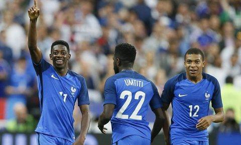 Video bàn thắng Pháp 3-2 Anh