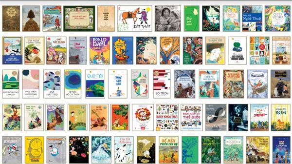 Hành trình 60 năm những cuốn sách hay và đẹp cho nhiều thế hệ