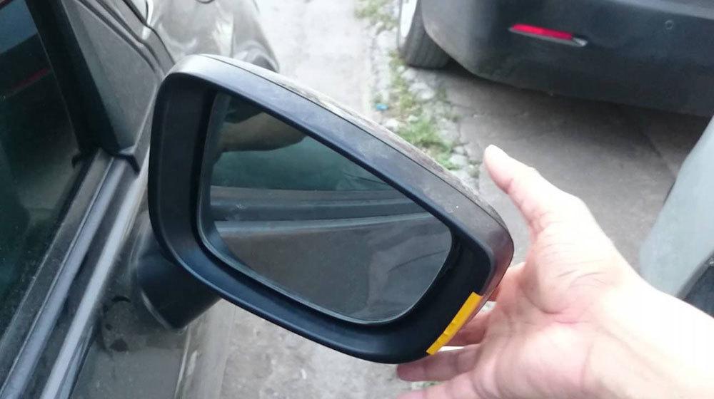 gương ô tô, gương chiếu hậu ô tô, công an