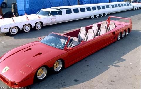 Những chiếc limousine trăm tỷ bạn chưa từng nhìn thấy