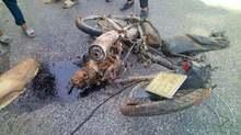 Xe bán tải nghiền nát xe máy, thiếu nữ 15 tuổi chết thảm
