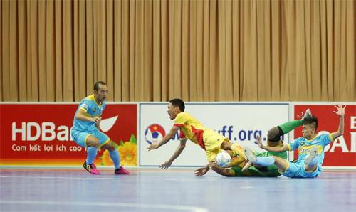 Giải VĐQG Futsal HDBank 2017: Kịch tính đến phút chót