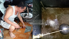 Công ty nước sạch phản hồi việc hàng trăm hộ dân mất nước