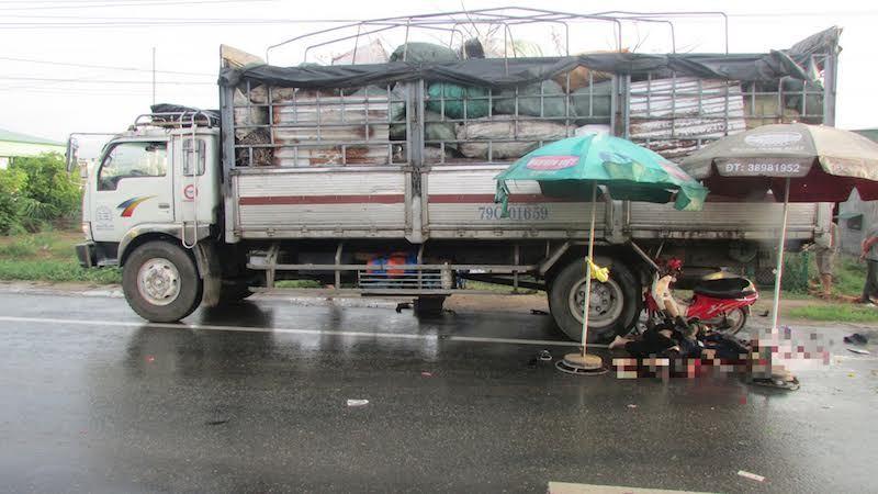 tai nạn giao thông, Bình Thuận, tử vong, xe tải, an toàn giao thông