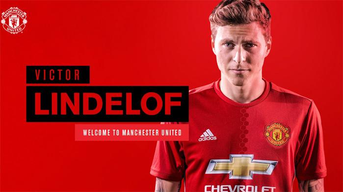 Lindelof rộn ràng ra mắt, chọn MU vì có Mourinho