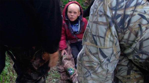 Em bé sống sót kỳ diệu sau 4 ngày lạc trong rừng