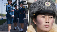 Tiêu chuẩn lạ tuyển nữ cảnh sát giao thông Triều Tiên