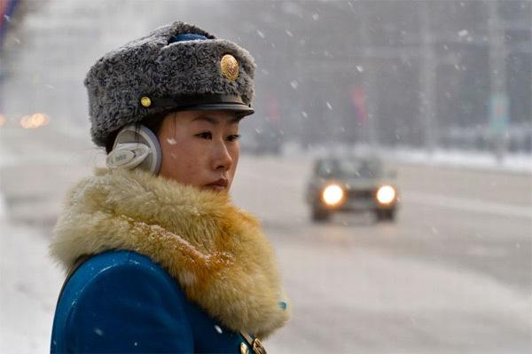 Triều Tiên, nữ cảnh sát giao thông Triều Tiên