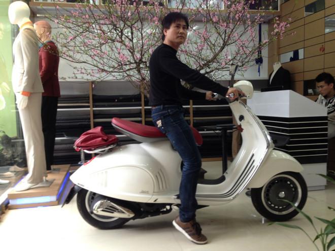 Loạt xe Vespa giá gần nửa tỷ gây xôn xao thị trường Việt