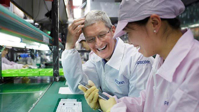 Công ty lắp ráp iPhone đàm phán xây nhà máy ở Mỹ