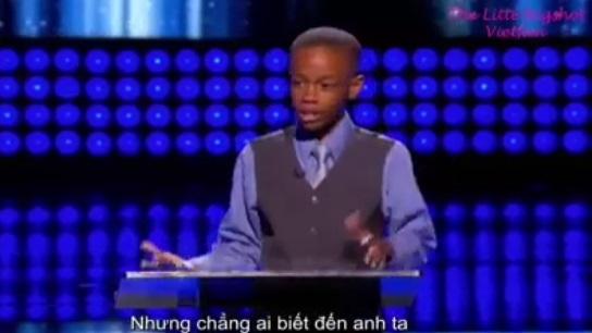 Bài thuyết trình của cậu bé 10 tuổi khiến vua hài nước Mỹ kinh ngạc