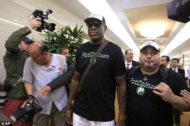 Dennis Rodman, cựu ngôi sao bóng rổ, Kim Jong Un, Triều Tiên