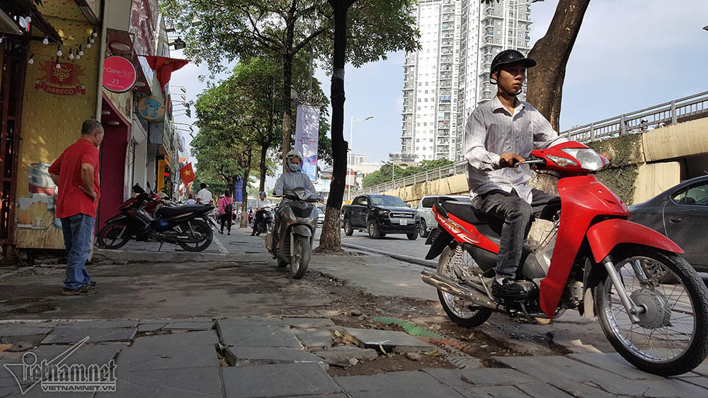 vỉa hè, vỉa hè Hà Nội, Hà Nội