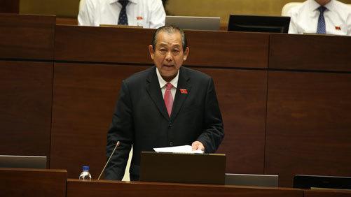 Phó Thủ tướng Trương Hòa Bình nói về biên chế giáo dục