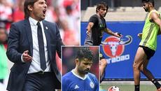 Conte nổi đóa với sếp Chelsea vì vụ Diego Costa