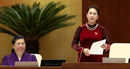 Chủ tịch Quốc hội 'chấm điểm' 4 bộ trưởng