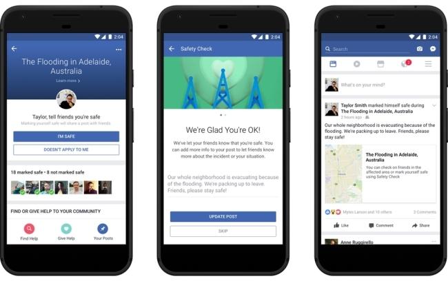 Facebook, Mạng xã hội, Gửi tiền