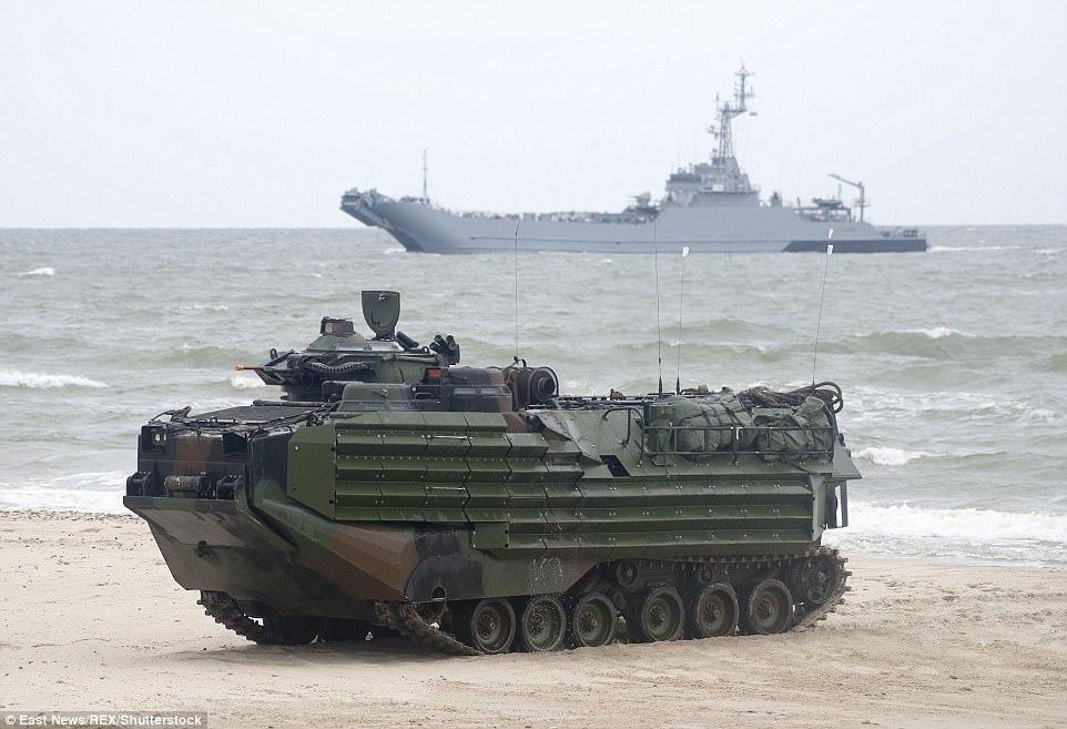 tập trận, NATO, Thủy quân Lục chiến Mỹ, Nga