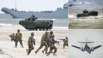 Xem thủy quân Lục chiến Mỹ tập trận đổ bộ sát sườn Nga