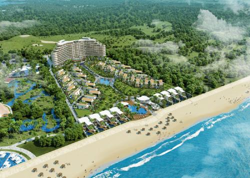 Hồ Tràm triển khai khu condotel và biệt thự Kahuna