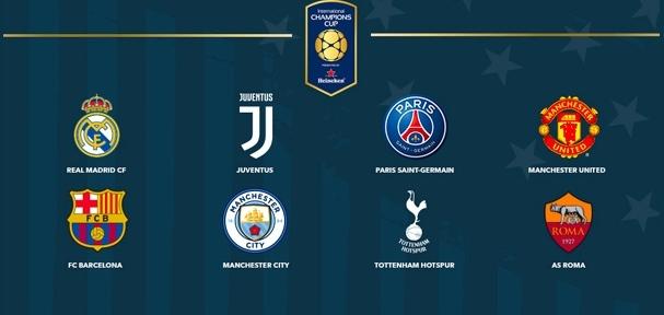 Lịch du đấu Hè 2017,lịch thi đấu,lịch du đấu hè,Lịch thi đấu bóng đá