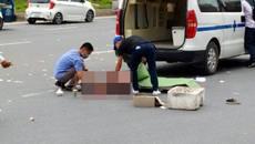 Cô gái trẻ bị ô tô cán tử vong ở Hà Nội
