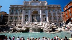 Trả giá đắt nếu tắm trong đài phun nước ở Rome
