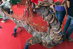 Nấm lim xanh 'rồng' khổng lồ hình giá 100 triệu hiếm có