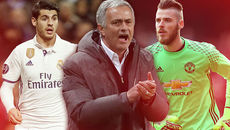 Real nổi hứng De Gea, Mourinho đòi 45 triệu bảng + Morata