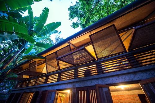 nhà đẹp, nhà tre truyền thống, thiết kế nhà