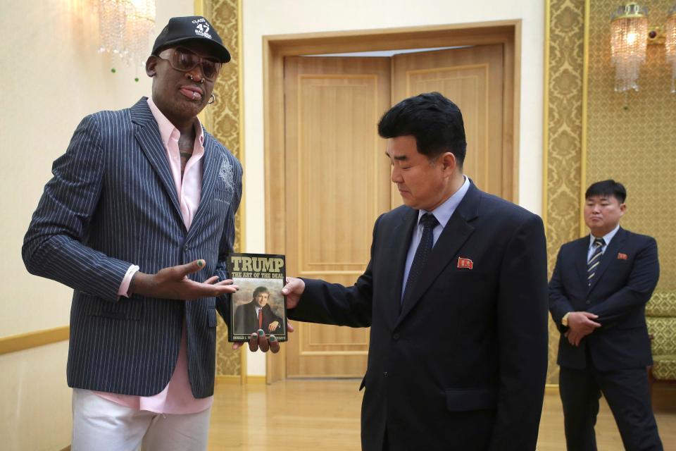 Dennis Rodman,Kim Jong Un,Triều Tiên