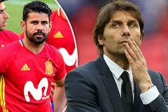 """MU thông báo tân binh thứ 2, Conte làm tới vụ """"đuổi"""" Costa"""