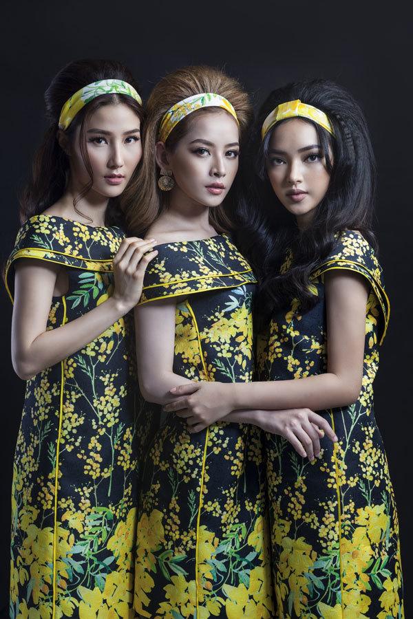 Chi Pu, Diễm My 9x, Châu Bùi mặc giống hệt nhau