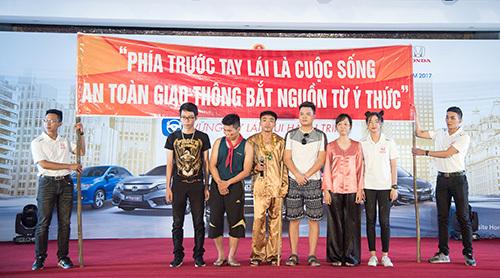 Ấn tượng hội thi Sinh viên lái xe ô tô an toàn 2017