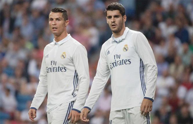Morata bức xúc vì chưa được Real 'cởi trói' sang MU