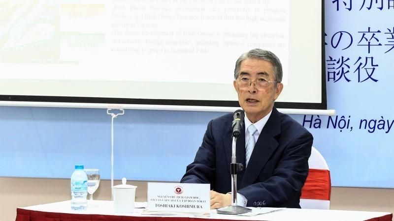 Giám đốc tập đoàn Nhật khuyên sinh viên Việt học kiến thức ngoài sách giáo khoa