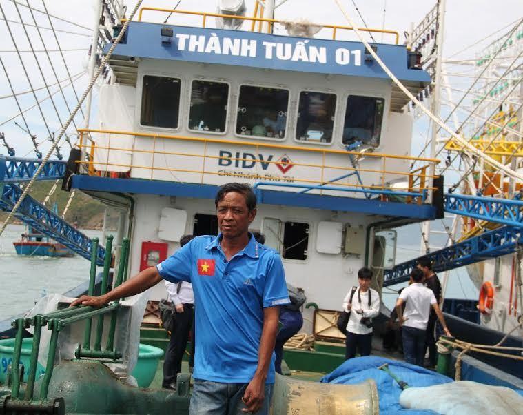 tàu vỏ thép, tàu rỉ sét, tàu vỏ thép rỉ sét, tàu vỏ sắt, ngư dân, Bình Định
