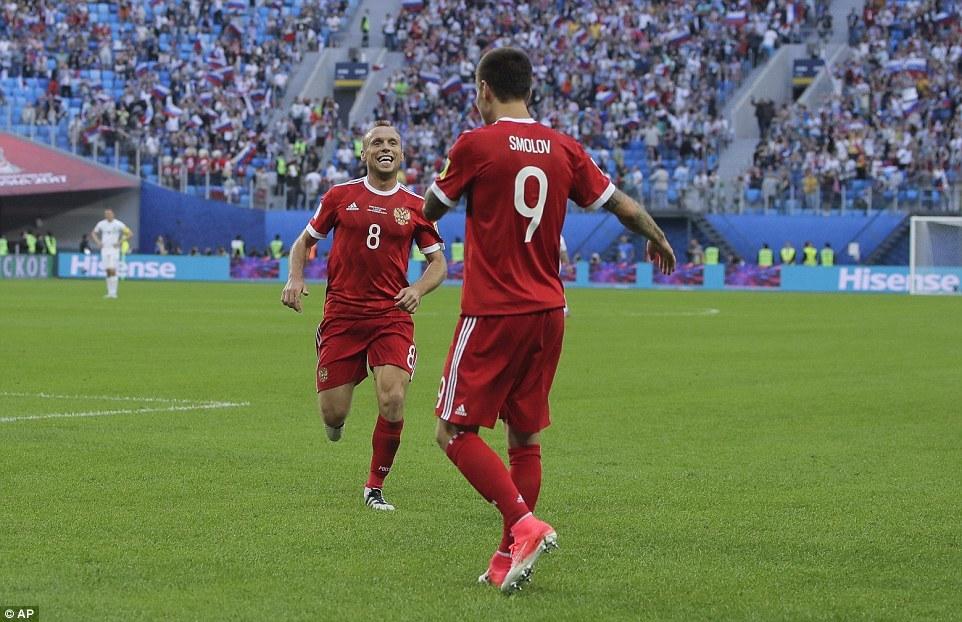 Kết quả bóng đá, confederations cup 2017